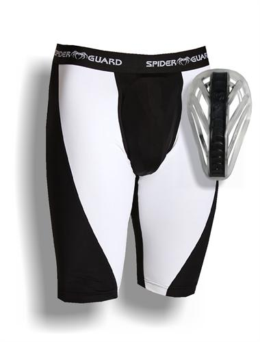 Spider Guard Spider Guard Compression Shorts With Web Flex Cup